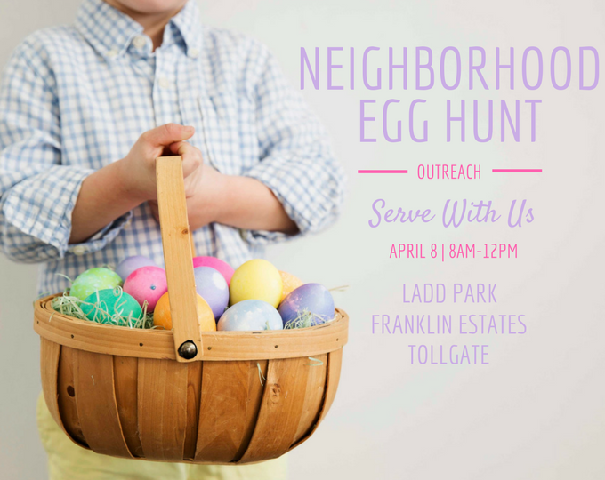 Neighborhood Egg Hunt Community Outreach